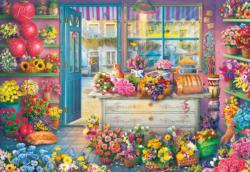 In Full Bloom Shopping Jigsaw Puzzle