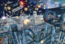 Death Star Sci-fi Jigsaw Puzzle