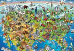 North America Wonders - Scratch and Dent United States Jigsaw Puzzle