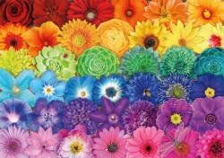 Flower Spectrum Collage Jigsaw Puzzle
