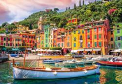 Come Sail Away - Portofino, Italy Seascape / Coastal Living Jigsaw Puzzle