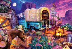 Wild West Camp Nature Jigsaw Puzzle