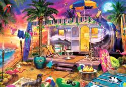 Beach Holiday Sunrise / Sunset Jigsaw Puzzle