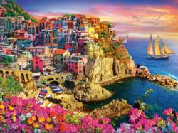 La Bella Vita Seascape / Coastal Living Jigsaw Puzzle