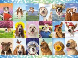 It's a Ruff Life Collage Jigsaw Puzzle