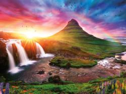 Iceland Sunset Sunrise / Sunset Jigsaw Puzzle