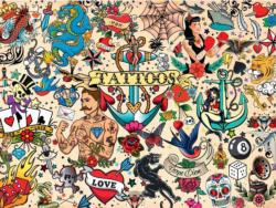 Tattoopalooza Graphics / Illustration Jigsaw Puzzle
