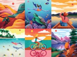 Wanderlust Bicycles Jigsaw Puzzle