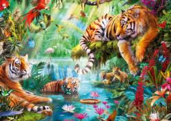 Tiger Lagoon Nature Large Piece