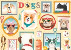 Dog's Rule Dogs Large Piece