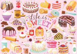 Life is Sweet Sweets Large Piece