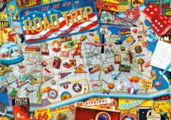 Road Trip - Scratch and Dent United States Jigsaw Puzzle