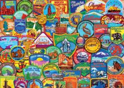 National Park Patches National Parks Large Piece
