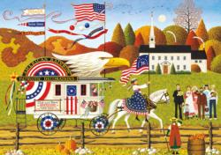 So Proudly We Hail Folk Art Jigsaw Puzzle