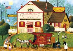 Sugar & Spice Folk Art Jigsaw Puzzle