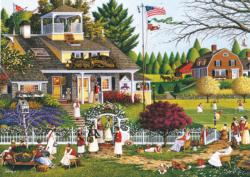 Love Americana & Folk Art Large Piece