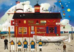 The Sea Buglers Seascape / Coastal Living Large Piece