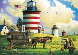 The Three Sisters Americana & Folk Art Large Piece