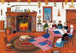 The Quiltmakers Americana & Folk Art Large Piece