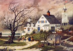Old Martha's Vineyard Americana & Folk Art Jigsaw Puzzle