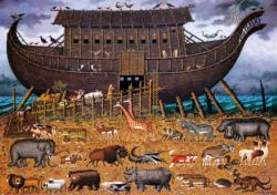 Noah and Friends Boats Large Piece