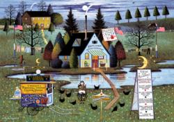 Know It All Americana & Folk Art Large Piece