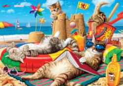 Beachcombers Cats Large Piece