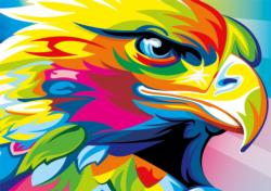 Bold Spirit Birds Large Piece
