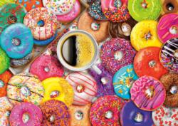 Coffee and Donuts Sweets Large Piece