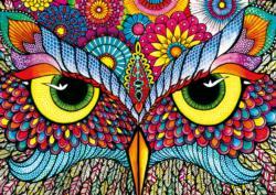 Owl Eyes Owl Large Piece