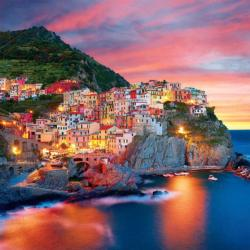 Amalfi Coast Seascape / Coastal Living Jigsaw Puzzle