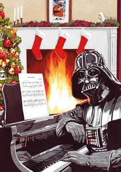 Star Wars™ A Very Vader Christmas Sci-fi Large Piece