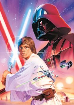 "Star Wars™ : ""Luke Skywalker and Darth Vader"" Star Wars Large Piece"
