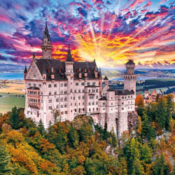 Fairy Tale Castle Europe Large Piece
