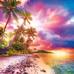 Escape to Paradise Nature Large Piece