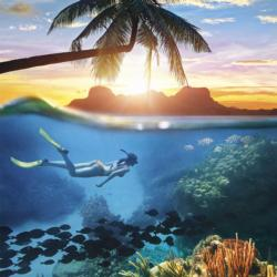 Into the Blue Seascape / Coastal Living Jigsaw Puzzle