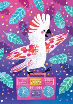 Party Parrot Birds Jigsaw Puzzle
