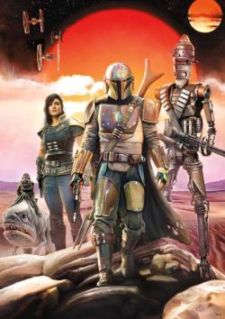Bounty Hunting Is A Complicated Profession… Star Wars Jigsaw Puzzle