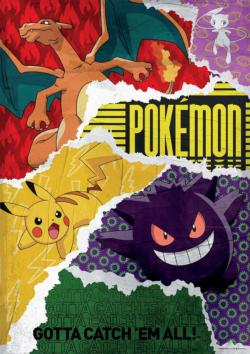 Pokemon - Urban Grit Video Game Jigsaw Puzzle