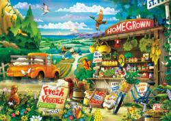 Country Road Countryside Jigsaw Puzzle