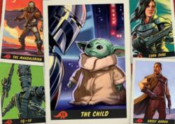 Trading Cards Star Wars Jigsaw Puzzle