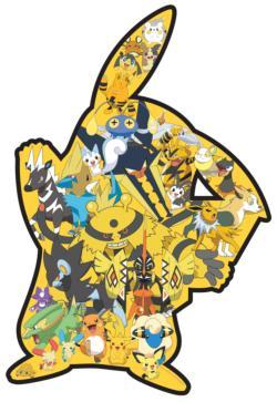 Pikachu Shaped Puzzle Movies / Books / TV Jigsaw Puzzle