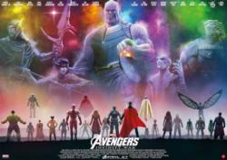 Avengers Infinity War - Scratch and Dent Super-heroes Jigsaw Puzzle