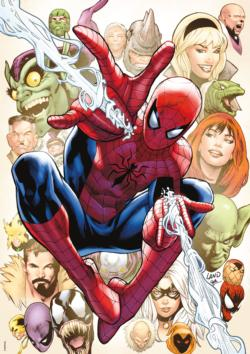 The Amazing Spiderman 800 Super-heroes Jigsaw Puzzle