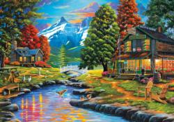 Dewie Hollow Cottage / Cabin Jigsaw Puzzle