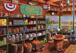 Rickie Pickett's Mercantile (Days to Remember) General Store Jigsaw Puzzle