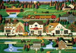 Yankee Wink Hollow (Americana Collection) Lakes / Rivers / Streams Jigsaw Puzzle