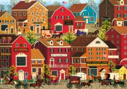 Lilac Point Glen Main Street / Small Town Jigsaw Puzzle