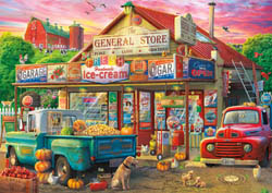 Country Store Americana & Folk Art Jigsaw Puzzle