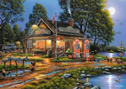 Eugene's Gas & Grocery Lakes / Rivers / Streams Jigsaw Puzzle